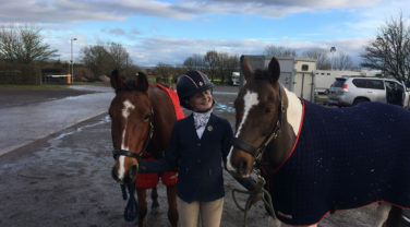 Maisie And Two Ponies