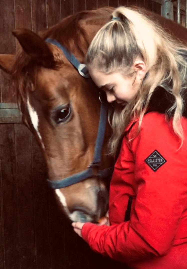 Olivia Whitelaw and horse Lordswood Sir Victorious