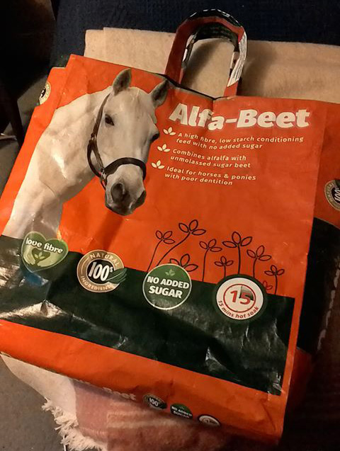 Alfa-Beet Shopping Bag